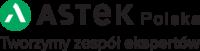 ASTEK Polska logo i hasło.png
